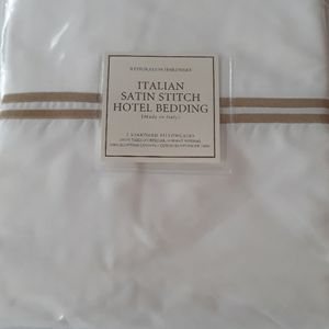 Restoration  Hardware Pillow cases NWT